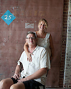 Indy Arts Award Winners: Heather & Tom LaGarde, the proprietors of the Haw River Ballroom, Saxapahaw, NC, July 15, 2011.