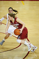 LOS ANGELES, CA - December 29, 2011:  Stanford's Lindy La Rocque during play against the USC Trojans at the Galen Center.   Stanford defeated USC, 61 - 53.