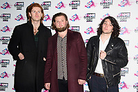 The Amazons at the VO5 NME Awards 2018 at the Brixton Academy, London, UK. <br /> 14 February  2018<br /> Picture: Steve Vas/Featureflash/SilverHub 0208 004 5359 sales@silverhubmedia.com