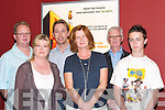 INVITED: Invited guests at the opening of the new Omniplex Cinema, Dan Spring Road, Tralee, on Friday evening. L-R: Canice Walsh, Jillian Slattery, Wesley Hanbidge, Deirdre Walsh, Niall Hanbidge and Colin Slattery (Tralee)..