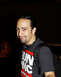 Lin-Manuel Miranda with book, lyrics and directed Broadway's sold out show - Hamilton - An American Musical on August 21, 2015 at the Richard Rodgers Theatre, New York City and he stars as Hamilton.  (Photos by Sue Coflin/Max Photos)