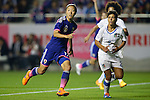 Yuki Ogimi (JPN), Elisa Bartoli (ITA),<br /> MAY 28, 2015 - Football / Soccer : Kirin Challenge Cup 2015 match between Womens Japan and Womens Italy at Minami Nagano Sports Park, Nagano, Japan. <br /> (Photo by AFLO) [2268]