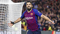 Barcelona, Spain, 01.05.2019, UEFA Champions League - 2018/19 Season, Halblfinale, 2. Runde, FC Barcelona Barca - FC Liverpool, Luis Suarez (Bacerlona) celebrates after scoring his team s first goal ( DeFodi523 *** Barcelona Spain 01 05 2019 UEFA Champions League 2018 19 Season Half Final 2 Round FC Barcelona FC Liverpool Luis Suarez Bacerlona celebrates after scoring his team s first goal DeFodi523  <br /> Barcellona 01-05-2019 Camp Nou <br /> Football 2018/2019 Uefa Champions League semi final <br /> Barcellona - Liverpool <br /> Foto Imago/Insidefoto <br /> Italy Only
