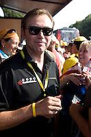 2010 Tour de France.Johan Bruyneel, Pau