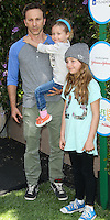 WEST HOLLYWOOD, CA, USA - APRIL 05: Breckin Meyer at the Safe Kids Day Event 2014 -  Los Angeles held at The Lot on April 5, 2014 in West Hollywood, California, United States. (Photo by Celebrity Monitor)