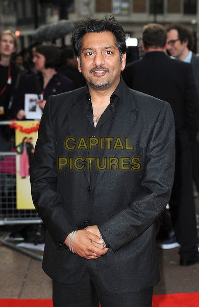 "NITIN GANATRA.The UK Premiere of ""It's A Wonderful Afterlife"", Odeon West End, London, England..12th April 2010.half length suit jacket black goatee facial hair .CAP/BEL.©Tom Belcher/Capital Pictures."