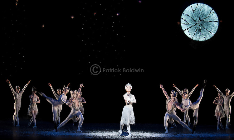 "English National Ballet. ""Snow Queen""."