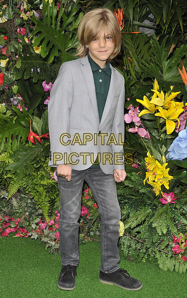 LONDON, ENGLAND - MARCH 30: Harry Hickles attends the &quot;Rio 2&quot; VIP film screening, Vue West End cinema, Leicester Square, on Sunday March 30, 2014 in London, England, UK.<br /> CAP/CAN<br /> &copy;Can Nguyen/Capital Pictures