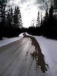 Spider Lake Road in the Chequamegon National Forest.
