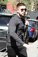 NEW YORK, NY - MAY 2: Vinny Guadagnino at ABC's The View promoting Jersey Shore Family Vacation on May 2, 2018 in New York City. Credit: RW/iMediaPunch