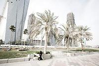 Qatar - Doha - Financial District, view from the Corniche