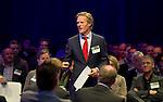 UTRECHT -  Lodewijk Klootwijk, directeur NVG , A tribe called Golf, de kracht van de connectie. Nationaal Golf Congres van de NVG 2014 , Nederlandse Vereniging Golfbranche. COPYRIGHT KOEN SUYK