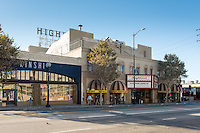 Highland Theater in Highland Park along Figueroa, Oct. 29, 2015.<br /> (Photo by Marc Campos, Occidental College Photographer)