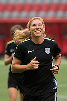 June 15, 2015: Lori CHALUPNY of the USA at an official practise session prior to a Group D match at the FIFA Women's World Cup Canada 2015 between Nigeria and the USA at BC Place Stadium on 16 June 2015 in Vancouver, Canada. Sydney Low/Asteriskimages.com