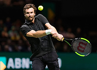 Rotterdam, The Netherlands, 14 Februari 2019, ABNAMRO World Tennis Tournament, Ahoy, Ernests Gulbis (LAT),<br /> Photo: www.tennisimages.com/Henk Koster