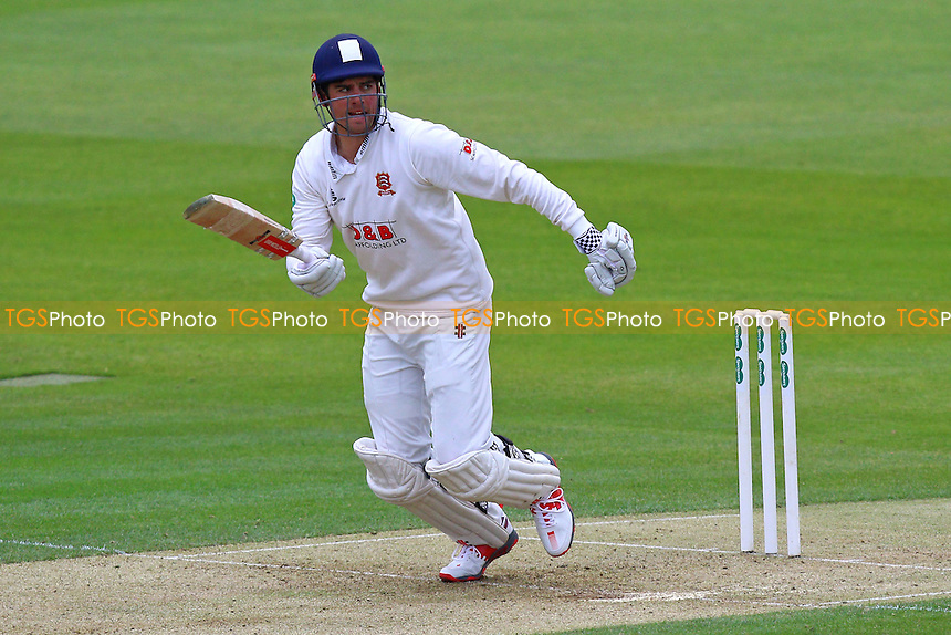 Alastair Cook in batting action for Essex during Essex CCC vs Northamptonshire CCC, Specsavers County Championship Division 2 Cricket at the Essex County Ground on 24th April 2016