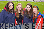 Cliodhna Lucey, Sinead O'Sullivan Clodagh Palmer and Clodagh Quinlan (Kenmare) pictured at Croke Park on Sunday for the Kenmare vs Ballinasloe final.