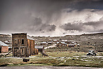 The ghost town of Bodie, California, State Historic Park.