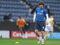 Preston North End's Ben Pearson during the pre-match warm-up <br /> <br /> Photographer Kevin Barnes/CameraSport<br /> <br /> The EFL Sky Bet Championship - Preston North End v Leeds United -Tuesday 9th April 2019 - Deepdale Stadium - Preston<br /> <br /> World Copyright &copy; 2019 CameraSport. All rights reserved. 43 Linden Ave. Countesthorpe. Leicester. England. LE8 5PG - Tel: +44 (0) 116 277 4147 - admin@camerasport.com - www.camerasport.com