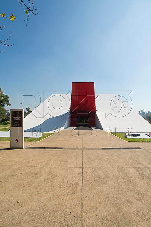 Auditório Ibirapuera no Parque do Ibirapuera, São Paulo - SP, 06/2016.