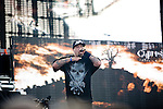 B-Real of Cypress Hill Performs at the 8th Annual Rock The Bells Held on Governors Island, NY  9/3/11