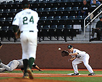 Tulane begins Conference USA play in baseball by hosting Marshall at Turchin Stadium. The Green Wave defeated the Thundering Herd 4-3 by coming from behind 3-1 in the 9th and scoring the winning run on a sacrifice fly by freshman Garrett Cannizaro.