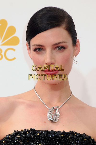 25 August 2014 - Los Angeles, California - Jessica Pare. 66th Annual Primetime Emmy Awards - Arrivals held at Nokia Theatre LA Live. <br /> CAP/ADM/BP<br /> &copy;BP/ADM/Capital Pictures