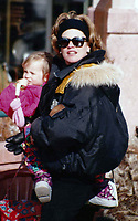 CelebrityArchaeology.com<br /> 1991 FILE PHOTO<br /> MELANIE Griffith baby is Dakota Johnson<br /> Photo to By John Barrett-PHOTOlink.net / MediaPunch<br /> ----- / MediaPunch