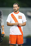 20 September 2013: Syracuse's Chris Makowski. The Duke University Blue Devils hosted the Syracuse University Orangemen at Koskinen Stadium in Durham, NC in a 2013 NCAA Division I Men's Soccer match. Syracuse won the game 2-1.