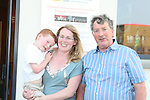 Denis, Lisa and Adam Craven at the KidKast Summer Show in The TLT...Photo NEWSFILE/Jenny Matthews.(Photo credit should read Jenny Matthews/NEWSFILE)....This Picture has been sent you under the condtions enclosed by:.Newsfile Ltd..The Studio,.Millmount Abbey,.Drogheda,.Co Meath..Ireland..Tel: +353(0)41-9871240.Fax: +353(0)41-9871260.GSM: +353(0)86-2500958.email: pictures@newsfile.ie.www.newsfile.ie.FTP: 193.120.102.198.