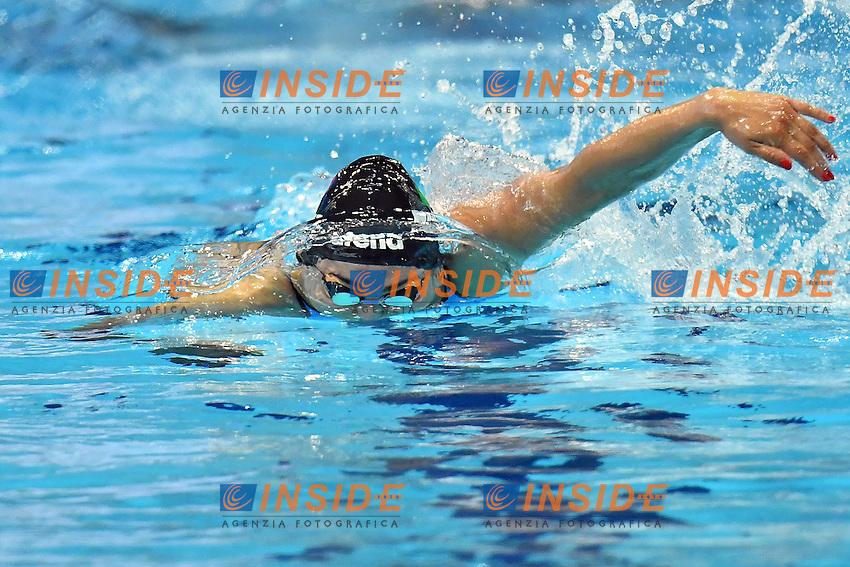 ITALY ITA 4x100m freestyle Women <br /> FERRAIOLI Erika PEZZATO Aglaia LETRARI Laura PELLEGRINI Federica<br /> London, Queen Elizabeth II Olympic Park Pool <br /> LEN 2016 European Aquatics Elite Championships <br /> Diving  <br /> Day 08 16-05-2016<br /> Photo Andrea Staccioli/Deepbluemedia/Insidefoto