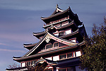 Historic building of Fushimi Castle, Fushimi-jo in Fushimi-ku, Kyoto, Japan 2017