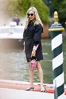 VENICE, ITALY - September 1st: Chloe Sevigny arrives at Darsena Excelsior during 74th Venice Film Festival at Excelsior Hotel on September 1st, 2017 in Venice, Italy. (Mark Cape/insidefoto)