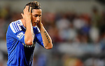 SO KON PO, HONG KONG - JULY 30: Fernando Torres of Chelsea reacts during the Asia Trophy Final match against Aston Villa at the Hong Kong Stadium on July 30, 2011 in So Kon Po, Hong Kong.  Photo by Victor Fraile / The Power of Sport Images