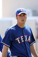 Michael Main - Texas Rangers, 2010 minor league spring training..Photo by:  Bill Mitchell/Four Seam Images.