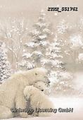Isabella, CHRISTMAS ANIMALS, WEIHNACHTEN TIERE, NAVIDAD ANIMALES, paintings+++++,ITKE551761,#xa# ,icebear,icebears