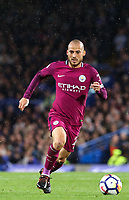 David Silva of Manchester City<br /> Calcio Chelsea - Manchester City Premier League <br /> Foto Phcimages/Panoramic/insidefoto