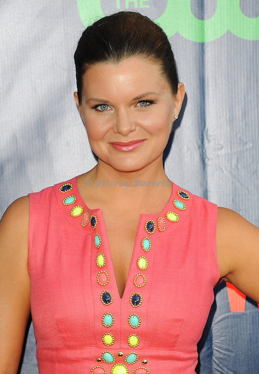 Heather Tom arriving at the CBS And CW TCA Summer Party 2014 held at The Pacific Design Center Los Angeles, CA. July 17, 2014.