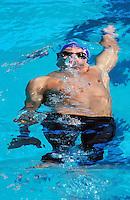 PICTURE BY VAUGHN RIDLEY/SWPIX.COM - Swimming - 12th FINA World Championships - Rod Laver Arena, Melbourne, Australia -  26/03/07...Copyright - Simon Wilkinson - 07811 267706...Great Britain's Liam Tancock competes in the Men's 100m Backstroke Heats.