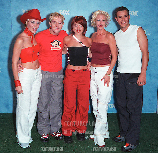 01AUG99: British pop group STEPS at the 1999 Teen Choice Awards, in Santa Monica..© Paul Smith / Featureflash