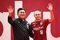 Soccer: Bienvenido Andres Iniesta in Japan