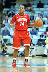 28 November 2012: Ohio State's Ameryst Alston. The University of North Carolina Tar Heels played the Ohio State University Buckeyes at Carmichael Arena in Chapel Hill, North Carolina in an NCAA Division I Women's Basketball game. UNC won the game 57-54.