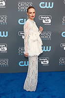 Kate Bosworth attends the 23rd Annual Critics' Choice Awards at Barker Hangar in Santa Monica, Los Angeles, USA, on 11 January 2018. Photo: Hubert Boesl - NO WIRE SERVICE - Photo: Hubert Boesl/dpa /MediaPunch ***FOR USA ONLY***
