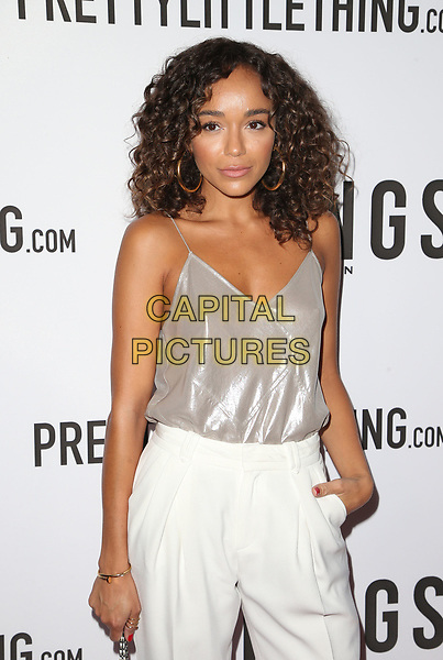 WEST HOLLYWOOD, CA - August 23: Ashley Madekwe, At TINGS Hosts 'Secret Party' Launch Celebrating Cover Star Cameron Dallas At Nightingale In California on August 23, 2017. <br /> CAP/MPI/FS<br /> &copy;FS/MPI/Capital Pictures