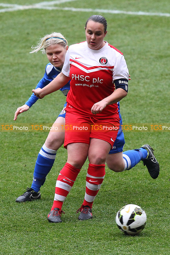 Charlton Athletic Women vs Cardiff City Women - FA Womens Premier League Cup Semi-Final Football at the Valley, Charlton - 15/03/15 - MANDATORY CREDIT: Gavin Ellis/TGSPHOTO - Self billing applies where appropriate - contact@tgsphoto.co.uk - NO UNPAID USE