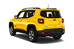 Car pictures of rear three quarter view of 2019 JEEP Renegade Trailhawk 5 Door SUV Angular Rear