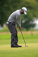 John Parry (ENG) on the 10th green during Round 2 of the Bridgestone Challenge 2017 at the Luton Hoo Hotel Golf &amp; Spa, Luton, Bedfordshire, England. 08/09/2017<br /> Picture: Golffile | Thos Caffrey<br /> <br /> <br /> All photo usage must carry mandatory copyright credit     (&copy; Golffile | Thos Caffrey)