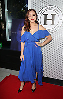 """28 May 2019 - Los Angeles, California - Hayley Orrantia. Hayley Orrantia Celebrates New EP """"The Way Out"""" held at The Harmonist.   <br /> CAP/ADM/FS<br /> ©FS/ADM/Capital Pictures"""