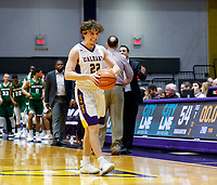 University at Albany men's basketball defeats Binghamton University 71-54  at the  SEFCU Arena, Feb. 27, 2018.  Nick Fruschio (#22). (Bruce Dudek / Cal Sport Media/Eclipse Sportswire)