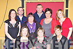 At the fundraising dance in the Riverside bar Currans on Saturday night front row l-r: Jeannette, Sheila and Amanda Quinlan. Back row: Sharon Kelleher, Alan Quinlan, Therese Petrassi, Conor O'Driscoll, Catherine Ahern and Laura McNulty .